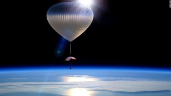 Image result for air balloon space