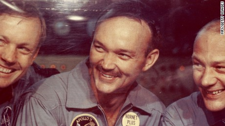 NASA's 'loneliest man'? Far from it: Astronaut Michael Collins on the 'cathedral' of Apollo 11