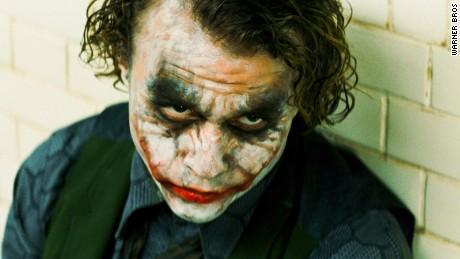"Heath Ledger won a posthumous Academy Award for his performance as the Joker in ""The Dark Knight."""