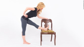 Self massage hamstrings
