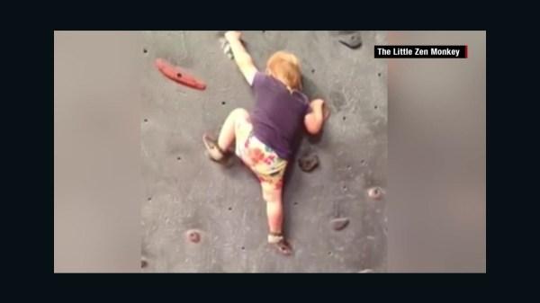 Baby Rock Climbing Wall