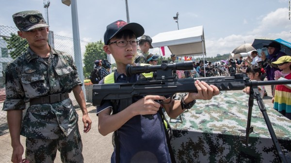 China makes its military more visible in Hong Kong CNN