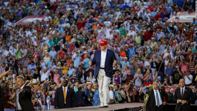 30,000 rally for Trump in Alabama