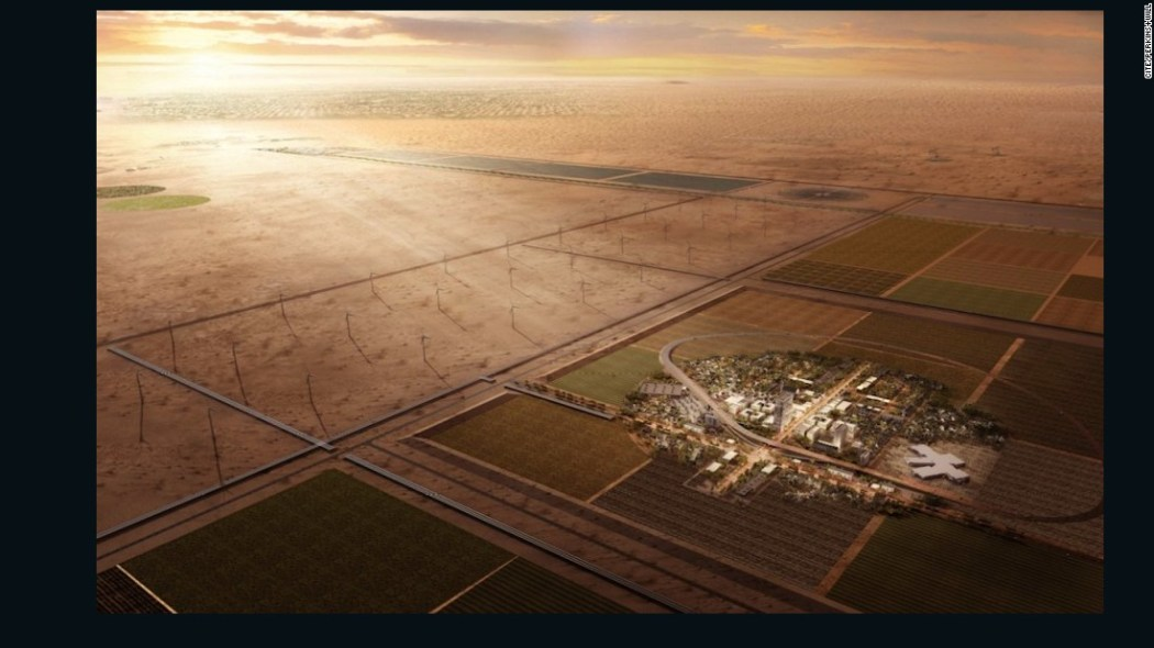 Image result for Bill Gates Just Put Millions Into Building a Smart City in the Desert