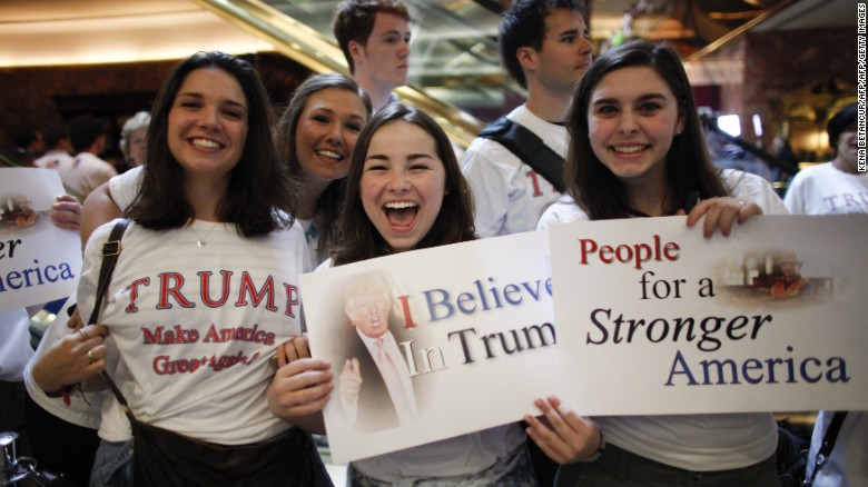 Image result for trump crowds