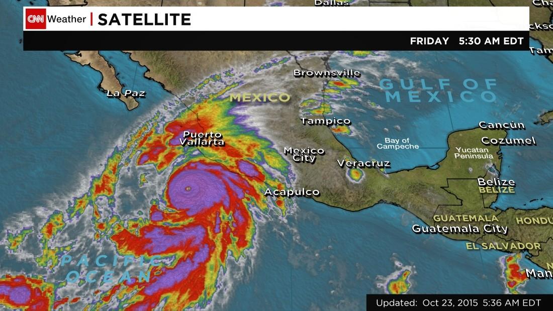 hurricane patricia weakens but