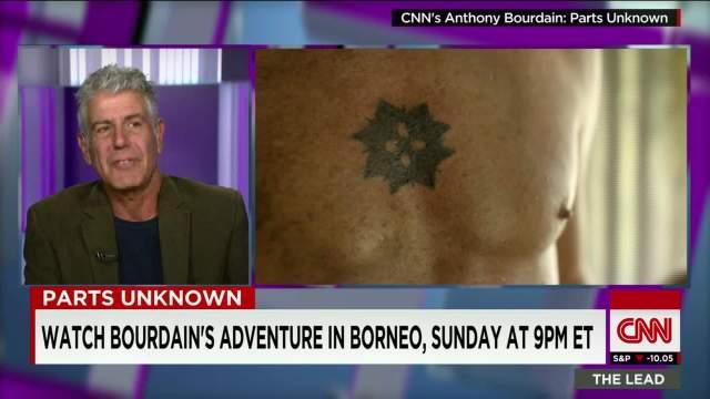 Resultado de imagen de anthony bourdain tattoo