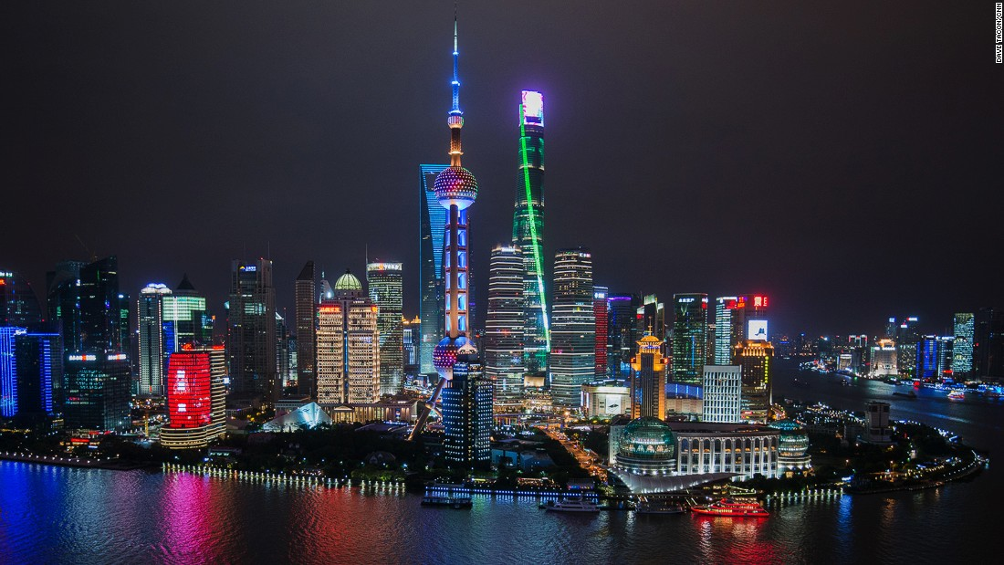 Image result for shanghai skyline