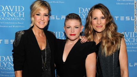 Martie Maguire, Natalie Maines and Emily Robison, from left, of the Dixie Chicks in 2014. In 2020 they shortened the band's name to the Chicks.