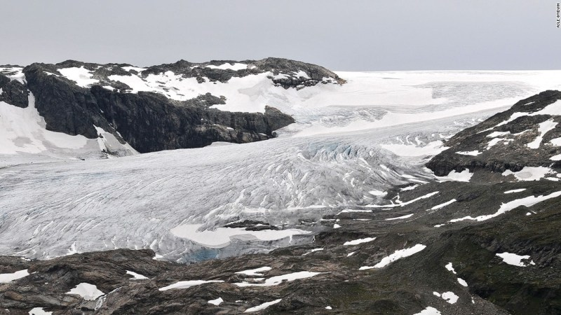"""<strong>Hoth (Hardanger Jokulen Glacier and Finse, Norway): </strong>Exteriors of the ice world Hoth in """"The Empire Strikes Back"""" were shot in the tiny village of Finse, Norway, and the main battlefield scenes were shot on the nearby glacier."""