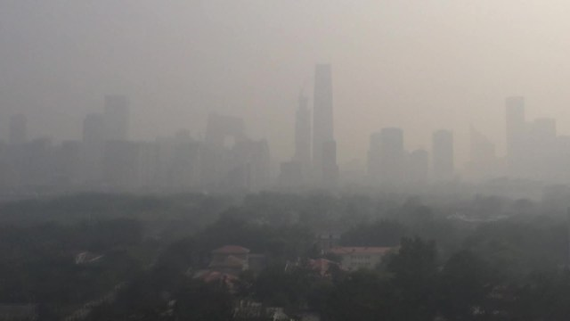 Image result for smog in beijing