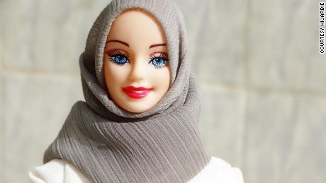 Collection, which mattel says honors women who. Hijarbie How Barbie Got A Muslim Makeover Cnn Style