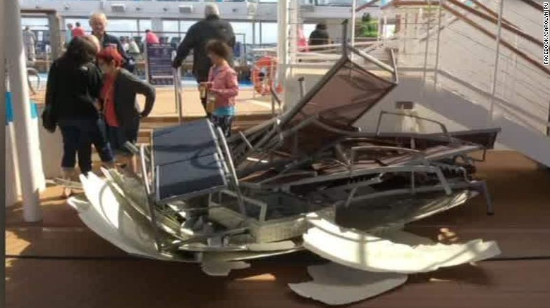 Royal Caribbean apologizes over cruise ship in storm  CNN