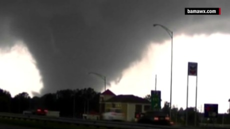 Destructive tornadoes carve deadly toll in Dixie Alley