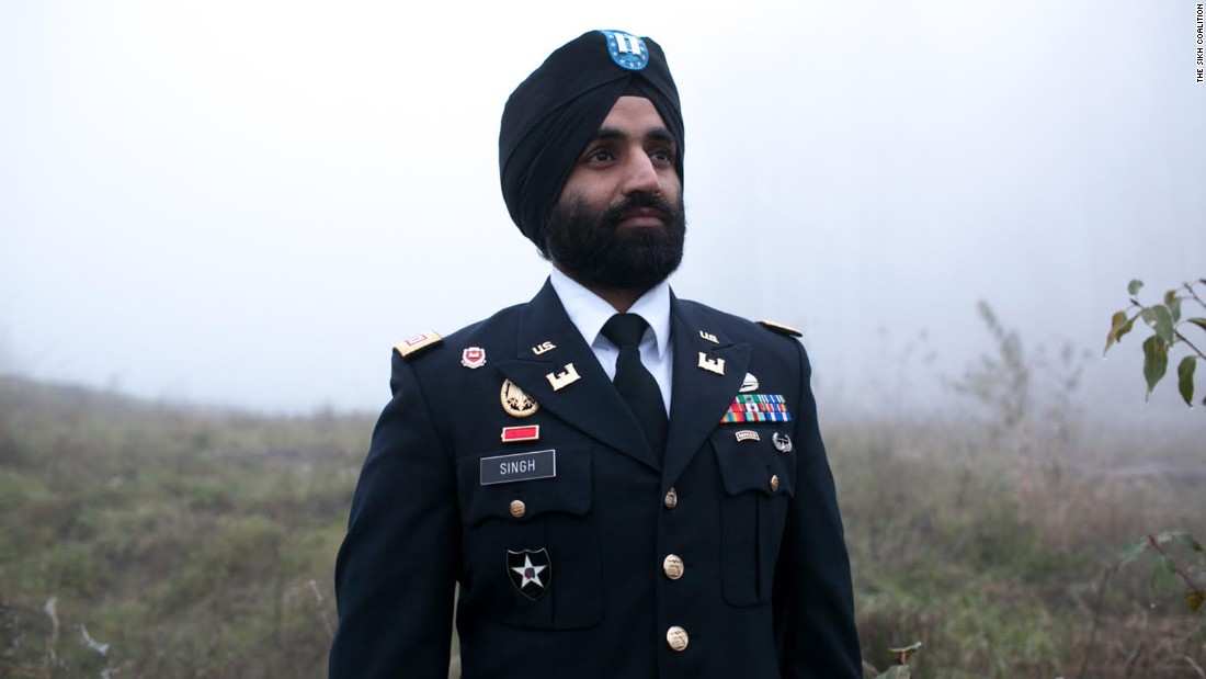 Sikh Army Captain May Wear Beard Turban In Uniform CNN