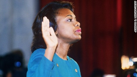 Echoes of Anita Hill in allegations against Kavanaugh