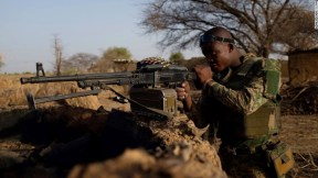 """Under Operation """"Lafiya Dole"""" -- meaning """"peace by any means"""" in Hausa -- the Nigerian army is working under intense scrutiny to locate and return the stolen Chibok girls to their parents."""