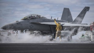 US Navy admits aircrew drew penis in the sky