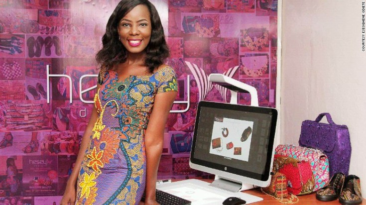 "Hesey Designs creative director Eseoghene Odiete says now is a great time to have a business in Nigeria. She says of her handbag and shoe company: ""Local patronage has increased. Nigerians are looking inwards to purchase items they would otherwise have gotten from other countries."""