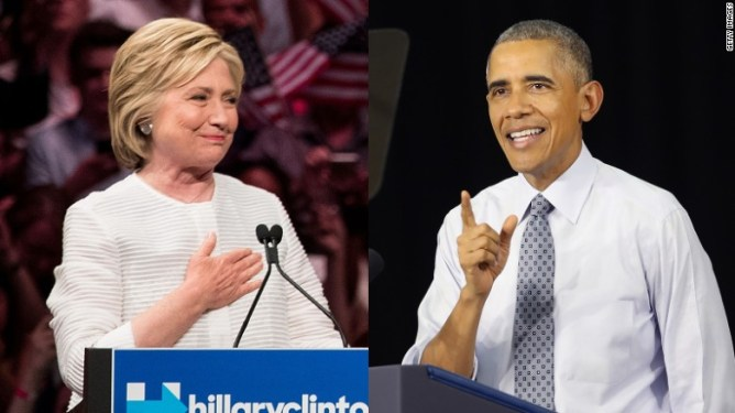 President Barack Obama endorses Hillary Clinton - CNN Video