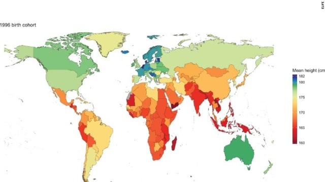 Картинки по запросу male height countries map