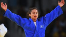 When Kelmendi fights, an entire nation stands still. The 26-year-old is more than just a talented judoka -- she's Kosovo's biggest sporting icon. Her face adorns billboards all over her home city of Peja, where locals speak in hushed tones about their country's first ever Olympic champion. Her legacy is equally unmistakable, with a new generation of Kosovar stars emerging in her wake.