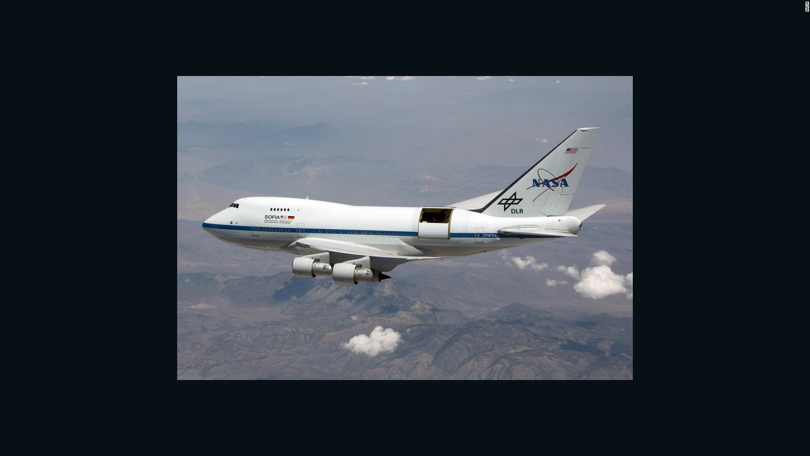 hight resolution of nasa s super 747 sofia the world s biggest flying observatory