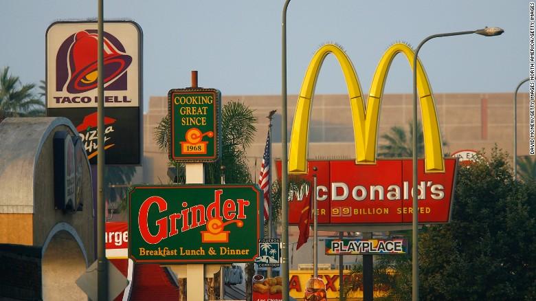 Fast Food Restaurants 40243
