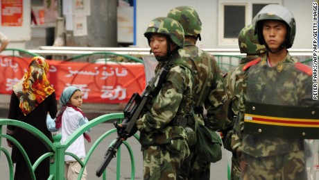 China admits to locking up Uyghurs, but defends Xinjiang crackdown