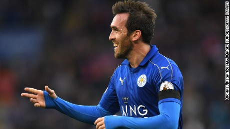 Christian Fuchs joined Leicester City in June 2015.