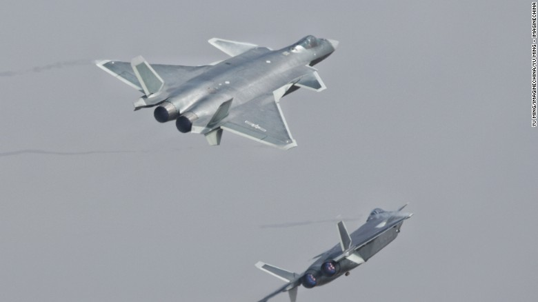 Chinese stealth fighters combat-ready, Beijing says - CNN