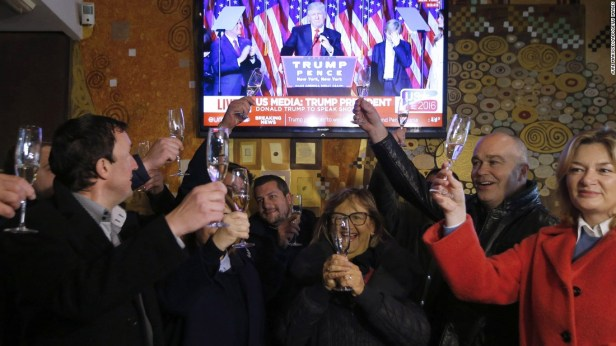 World reacts to Trump victory