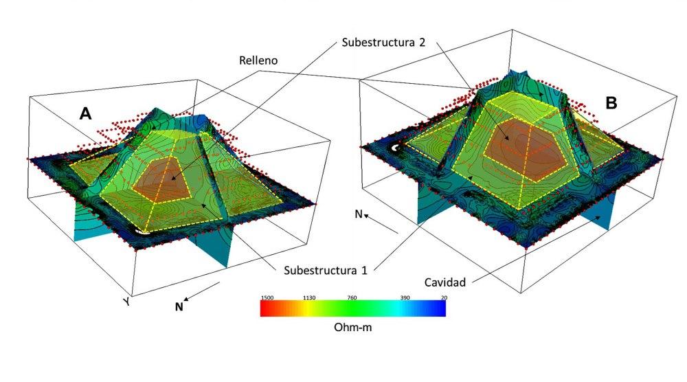 medium resolution of second pyramid found inside kukulkan at chichen itza in mexico cnn style