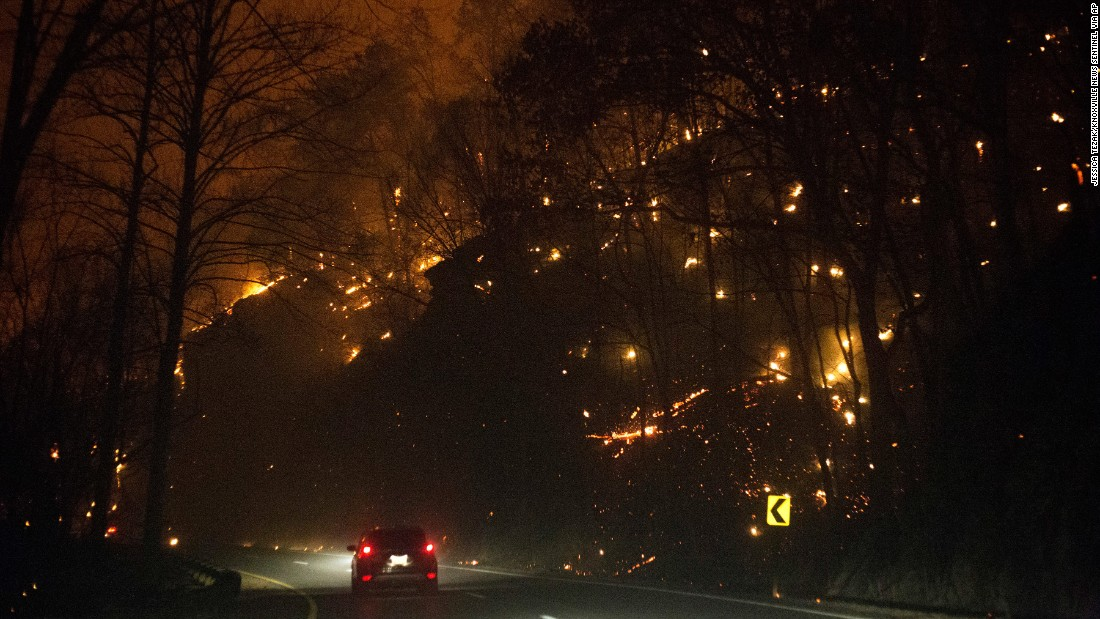 Gatlinburg In The Fall Wallpaper Could Juveniles In Gatlinburg Fire Face Murder Charges Cnn
