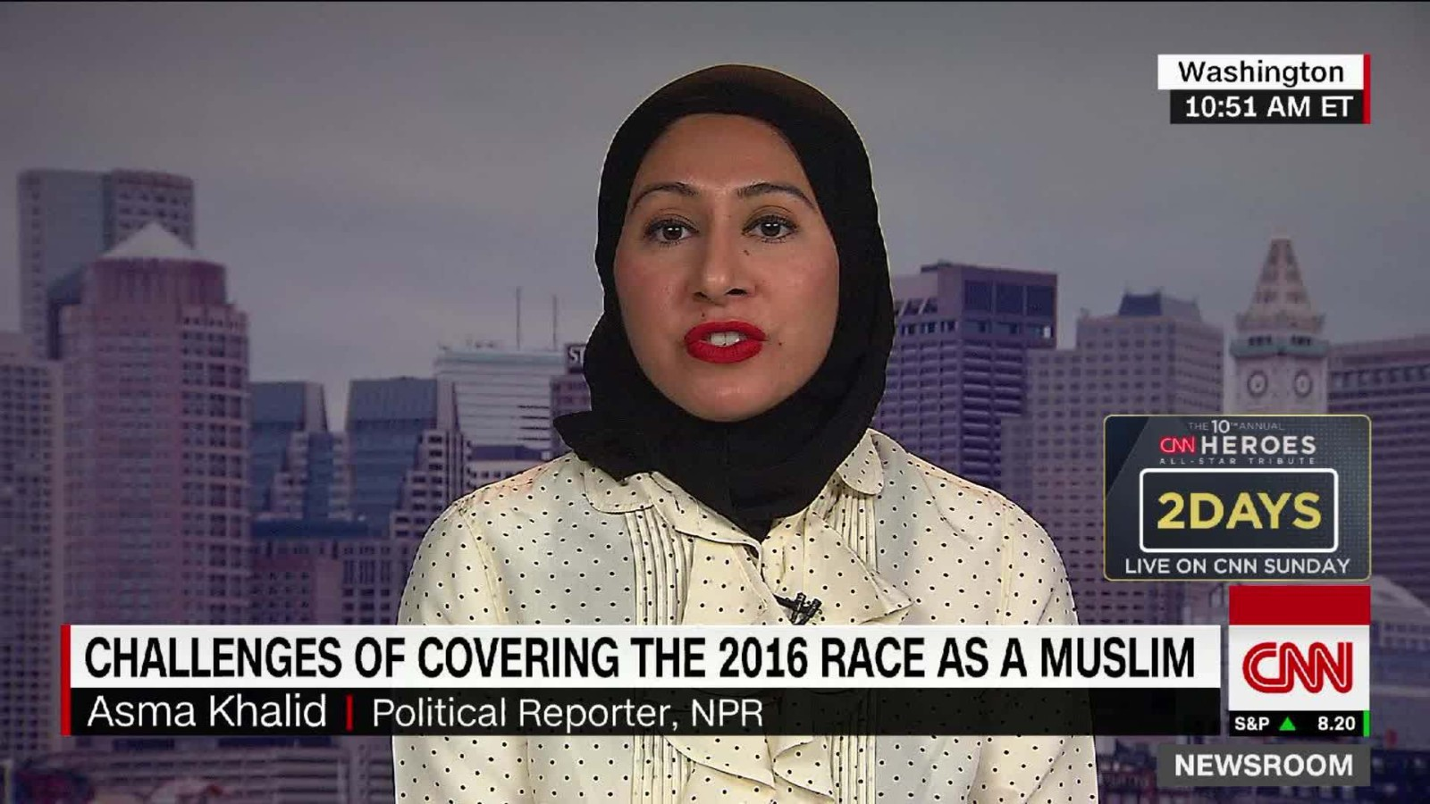 Toronto journalist ginella massa's career has involved many firsts. Reporting On The Election As A Muslim Woman Cnn Video