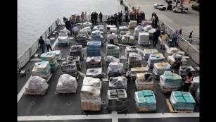 Coast Guard seizes 26.5 tons of cocaine