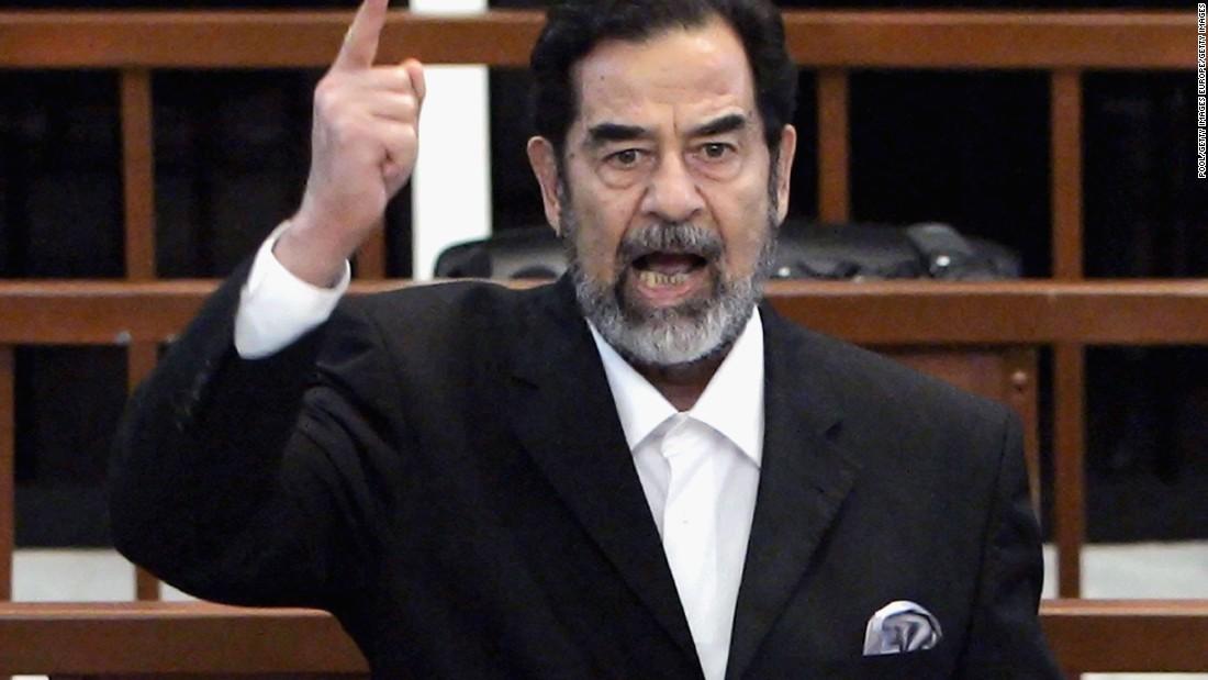 Resultado de imagen de Saddam Hussein