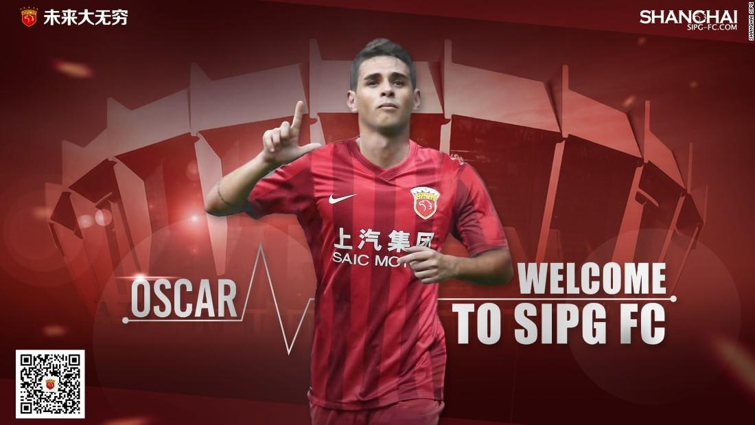 Oscar: Chelsea midfielder to join Chinese Super League club Shanghai SIPG -  CNN
