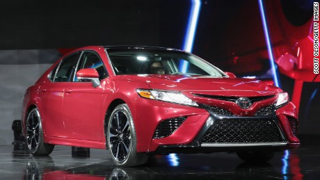 all new camry commercial toyota yaris trd sportivo 2018 gets some sex appeal cnn video detroit mi january 09 introduces the at