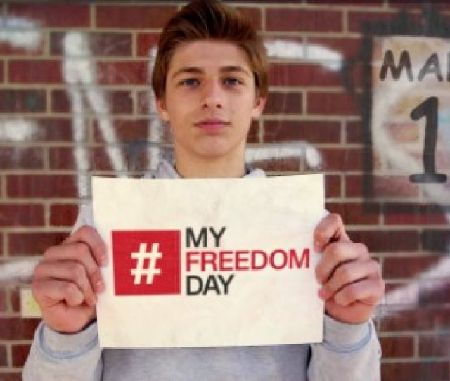 Its Myfreedomday All Over The World Students Are Fighting