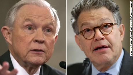 Sessions and Franken go at it again