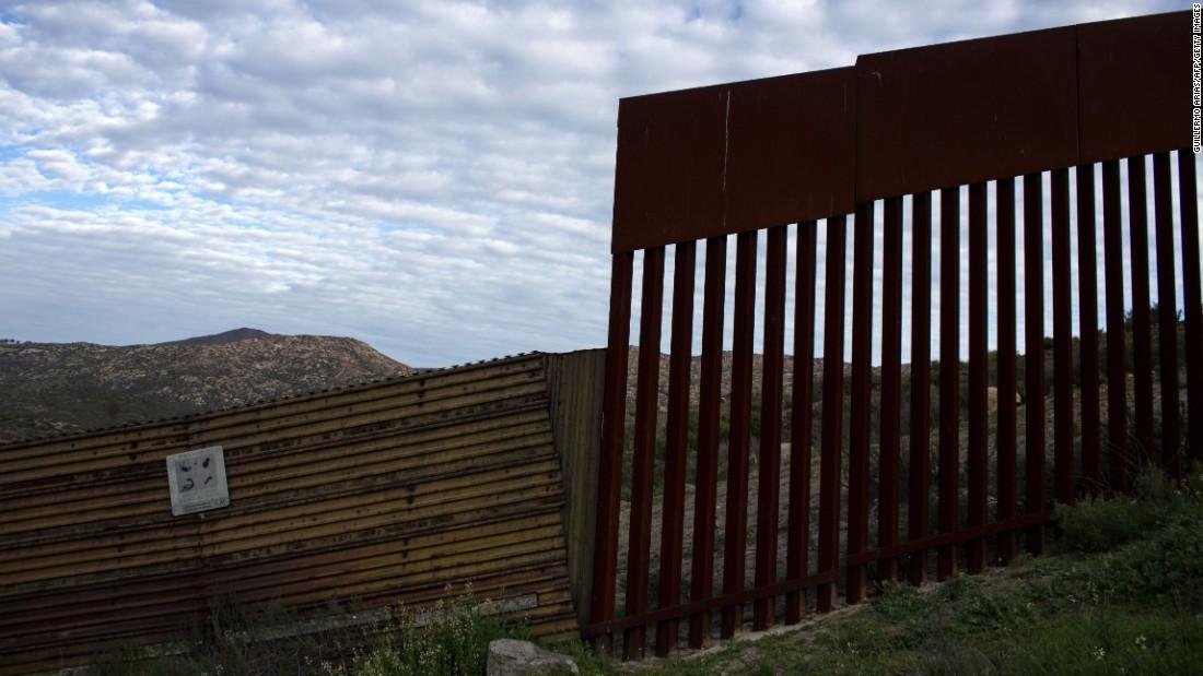 Trump border wall ask 1B for 62 miles  CNNPolitics