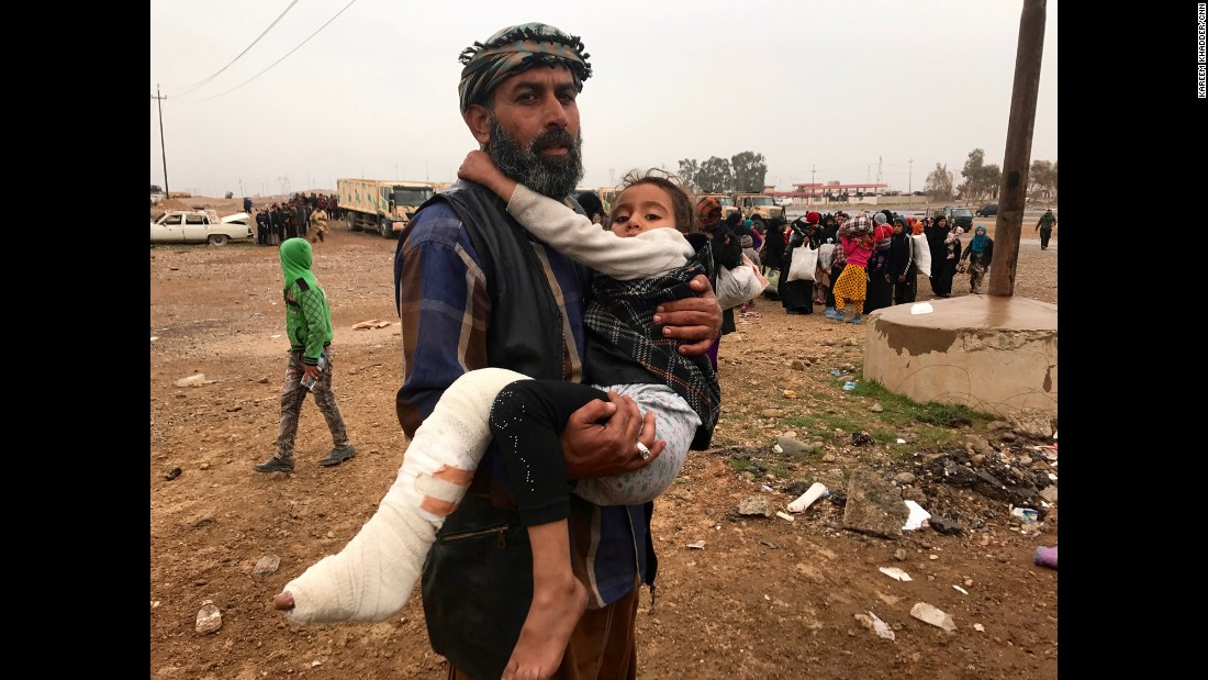 Number Of Civilians Fleeing Mosul Nears 60,000 Cnn