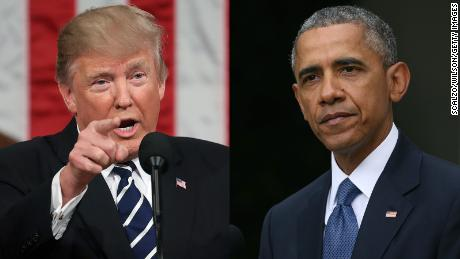 Obama takes on hate and Trump takes on Obama