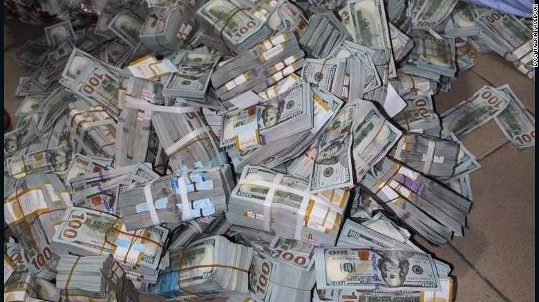 Nigerian anticorruption unit finds 43 million in cash in
