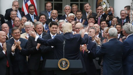 Image result for congressmen on white house steps pictures