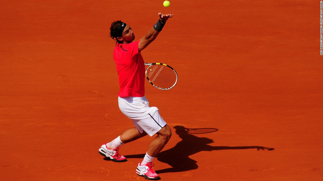 Perhaps In An Attempt To Gain The Upper Hand On Opponents By Blending Into The Clay