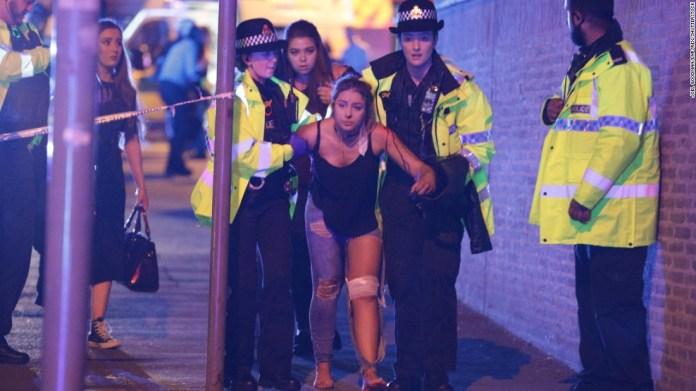 22 dead after blast at Manchester concert