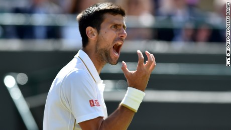 Djokovic missed the US Open with an elbow injury