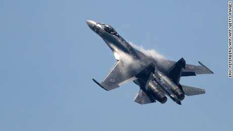 US military accuses Russian jets again of 'dangerous' aerial encounter